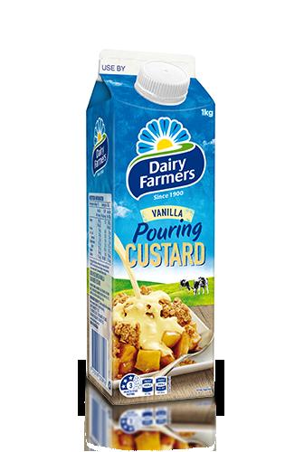 custard-pouring